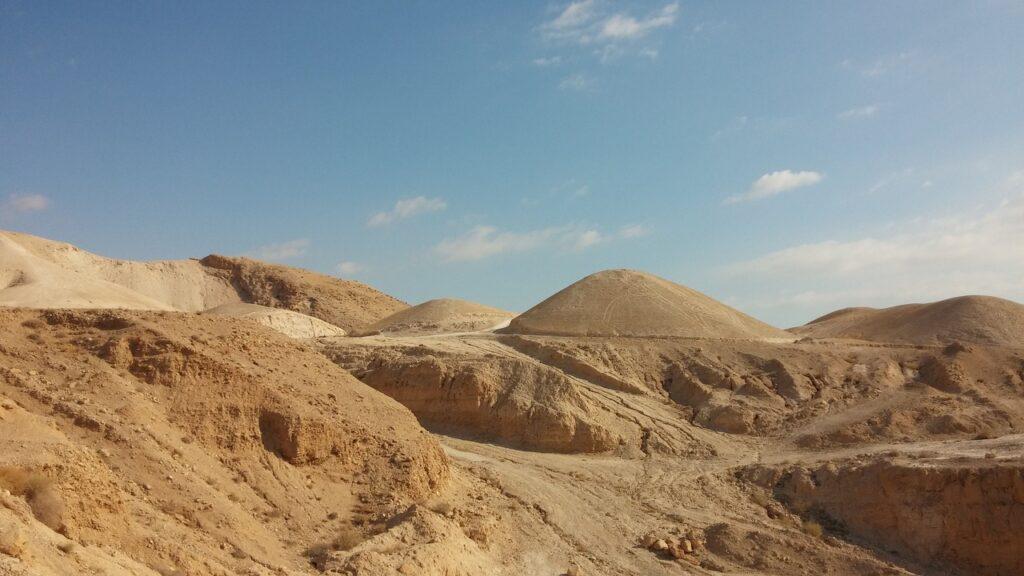 Atentado palestino frustrado no Deserto da Judéia