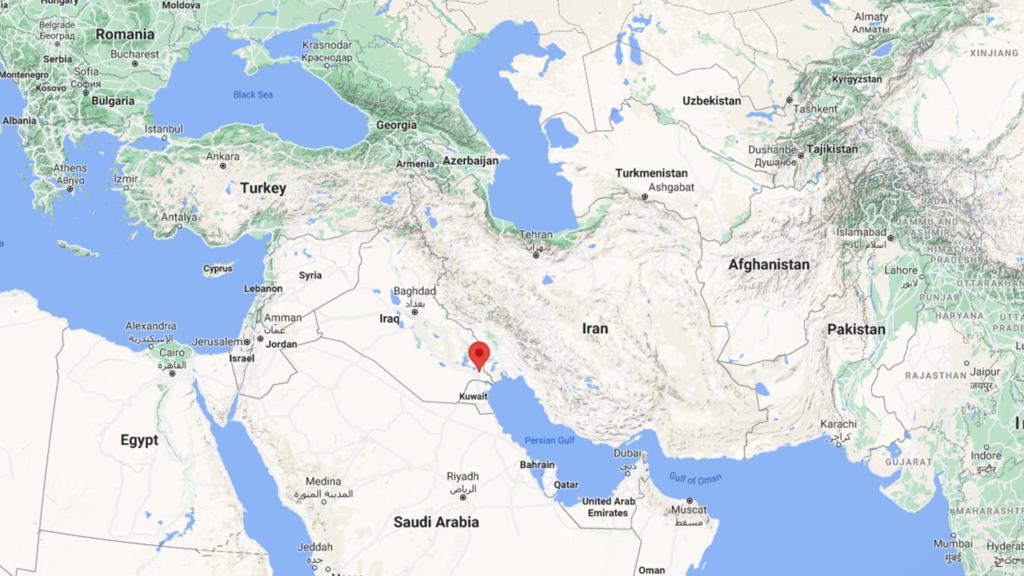 Terremotos no Irã e no Iraque