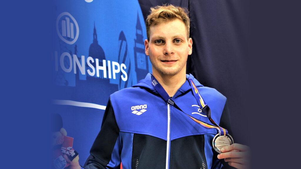 Israelense medalha de ouro em nado nos Jogos Paraolímpicos